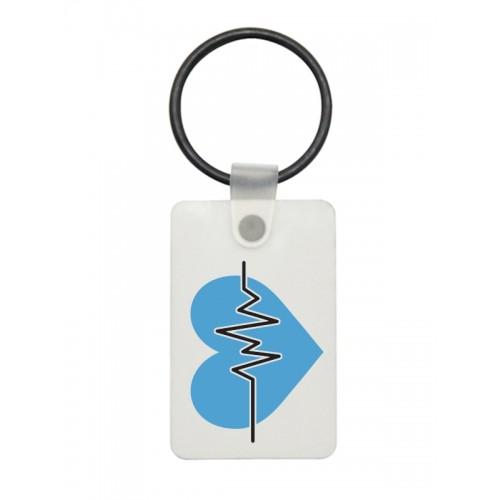 USB Sleutelhanger EKG Blauw
