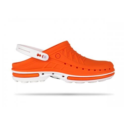 Wock Clog 05 Wit / Oranje